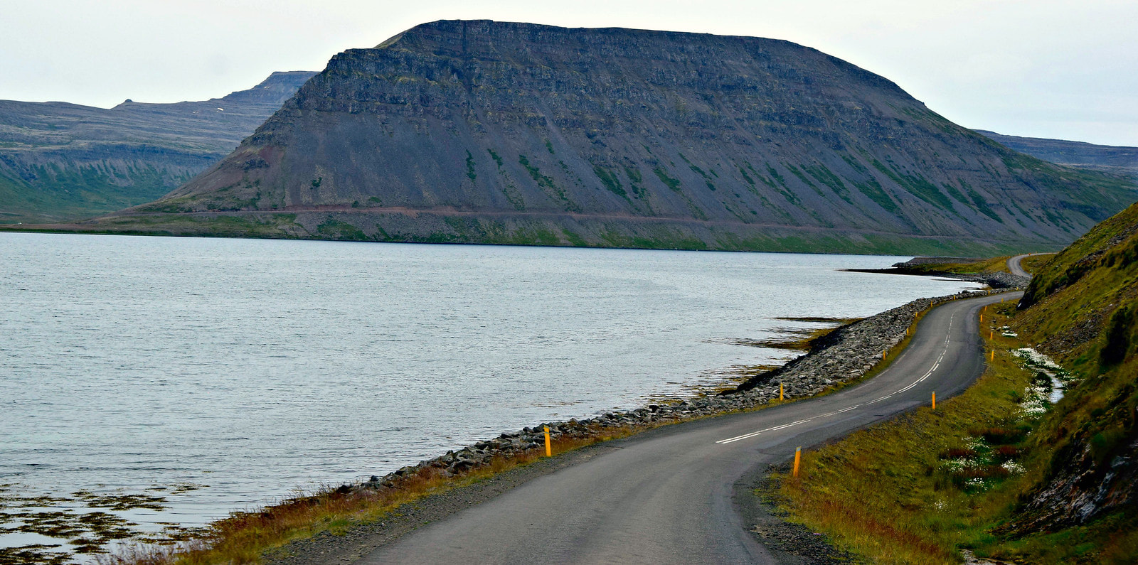 West Fjord Road - Iceland