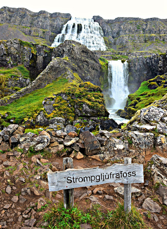 Dynjandi and Strompgljúfrafoss waterfalls - Iceland
