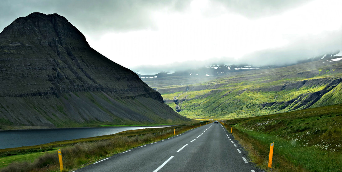 Driving In West Fjords - Iceland