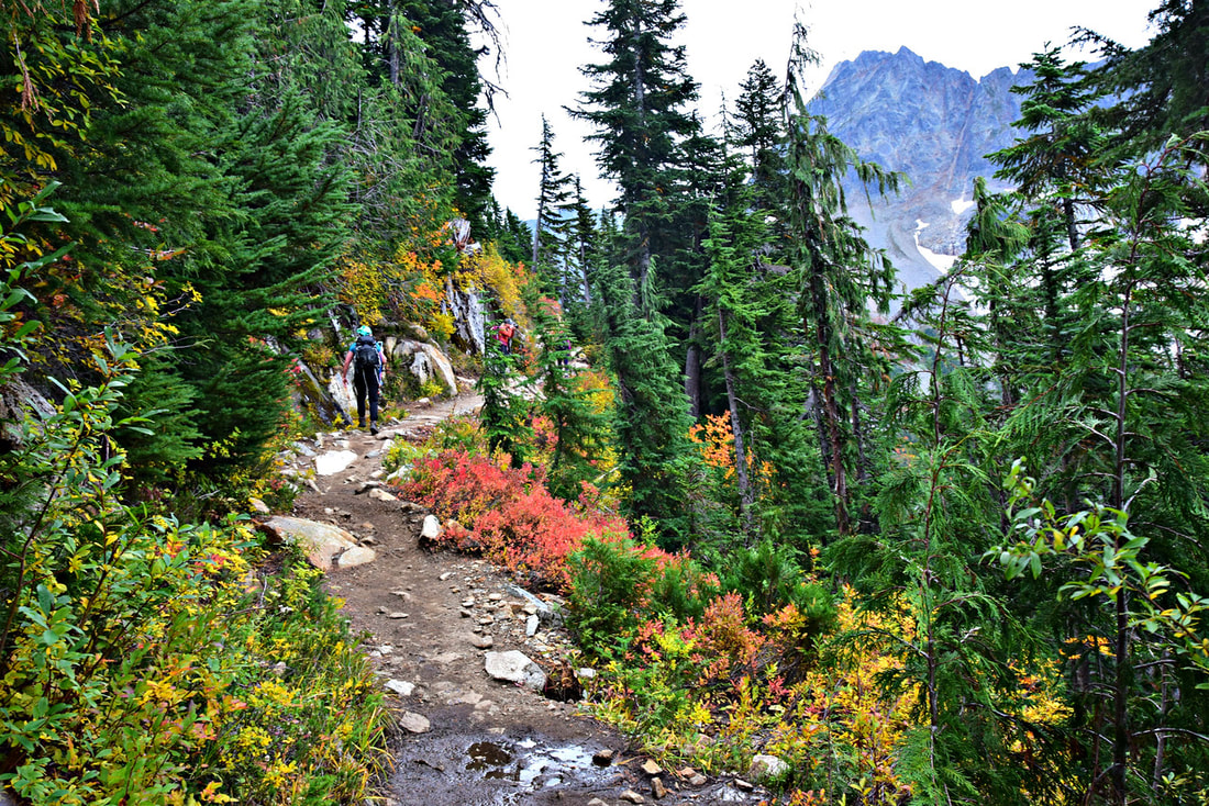 Cascade Pass - North Cascades National Park