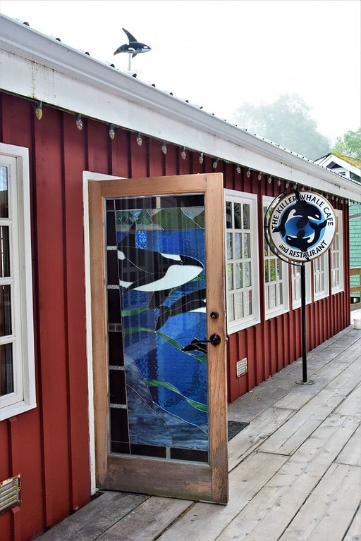 Killer Whale Cafe, Telegraph Cove, Vancouver Island
