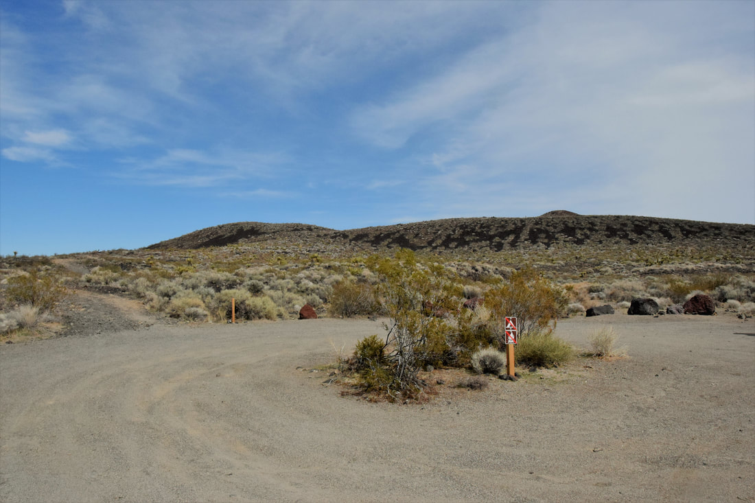 Lava Tube Parking Area - Mojave National Preserve