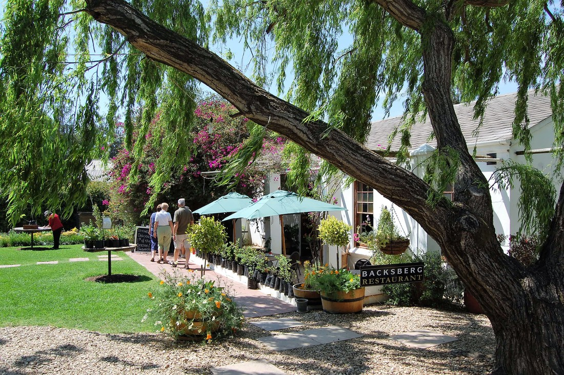 Backsberg Restaurant, Wine Country, South Africa
