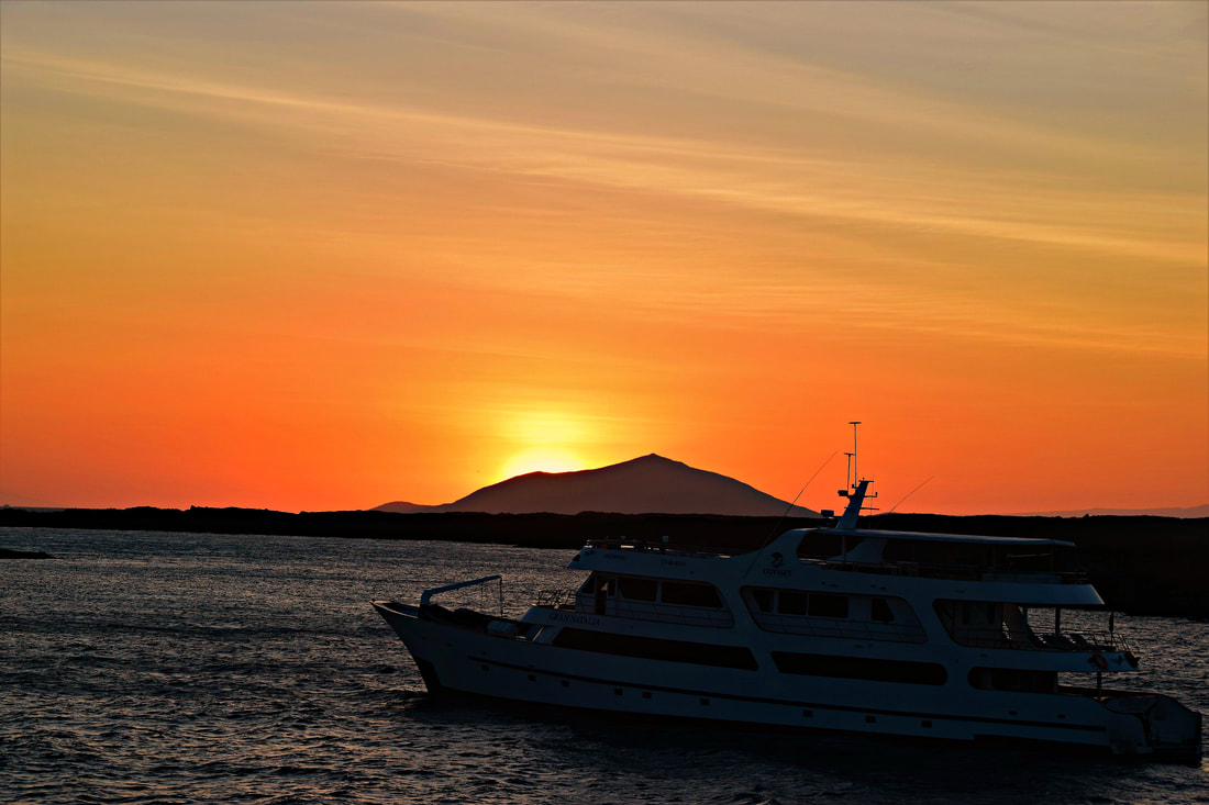 Galapagos Islands Chinese Hat Sunset