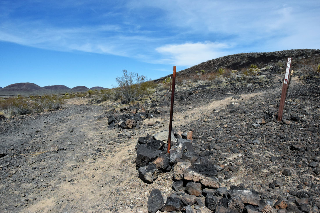Trail To Lava Tube - Mojave National Preserve