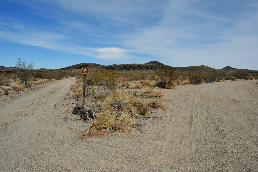 Road To Lava Tube - Mojave National Preserve