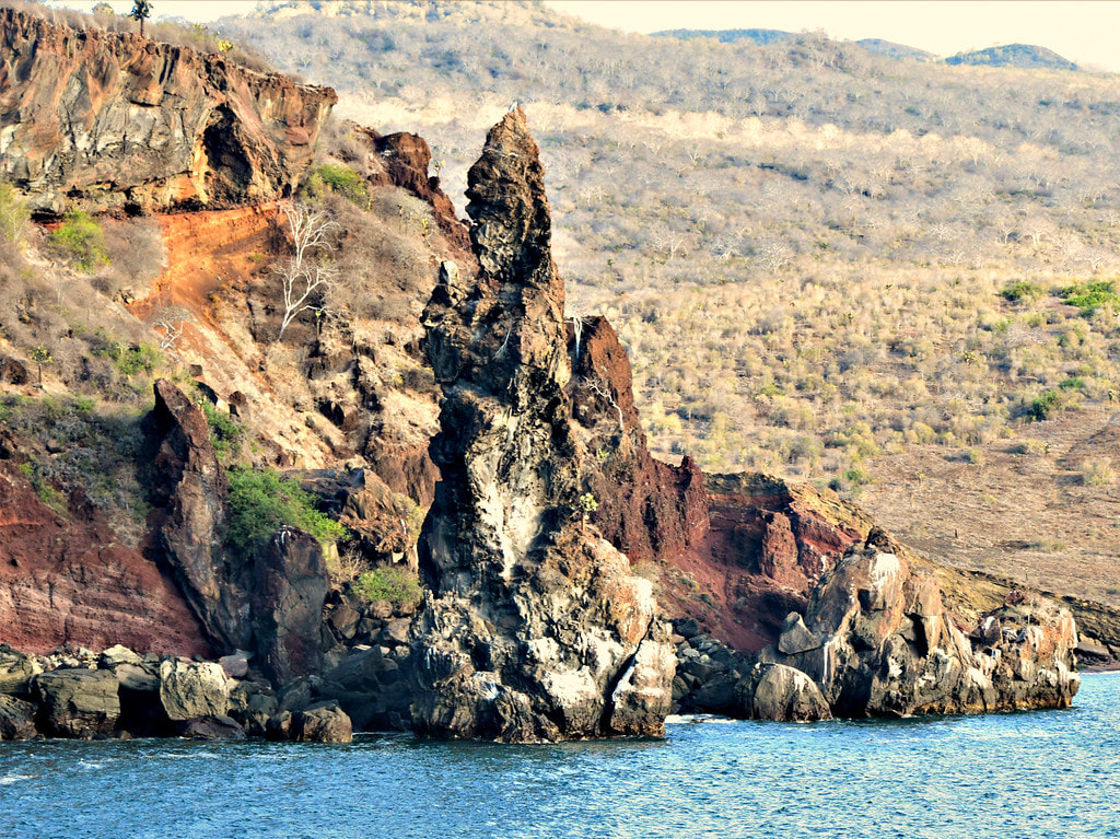 Galapagos Islands Santiago Bishop Rock