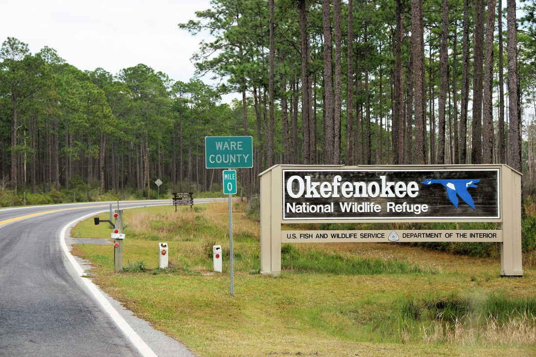 Okefenokee National Wildlife Refuge Western Entrance