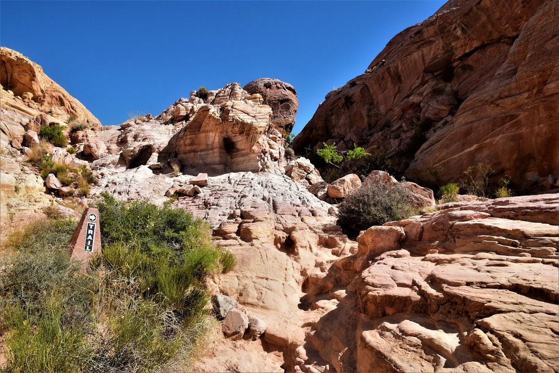 White Domes Loop Trail - Valley of Fire