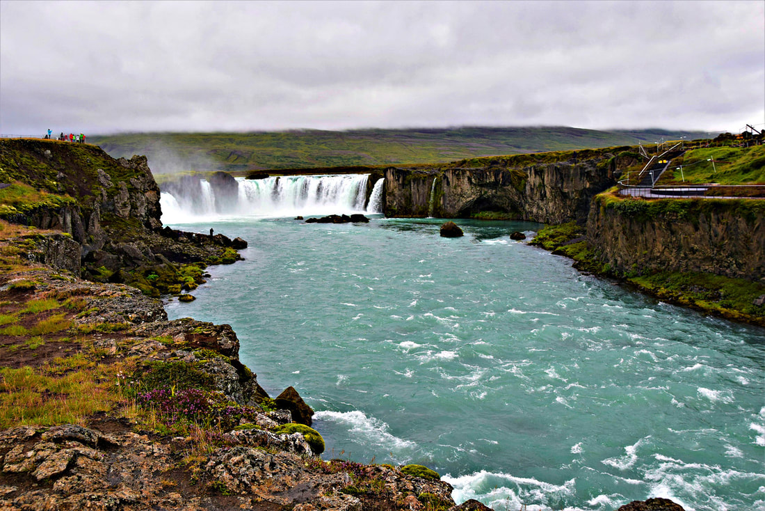 Goðafoss Waterfall - North Iceland