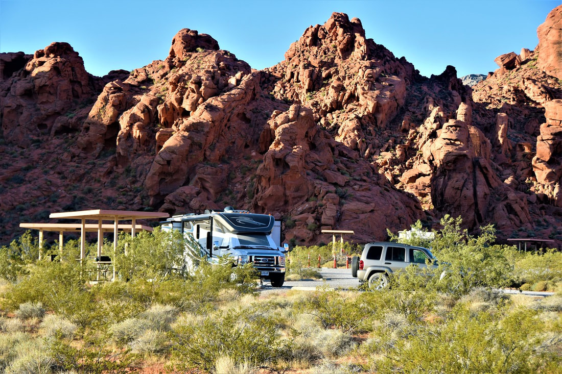 Atlatl Rock Campground - Valley of Fire