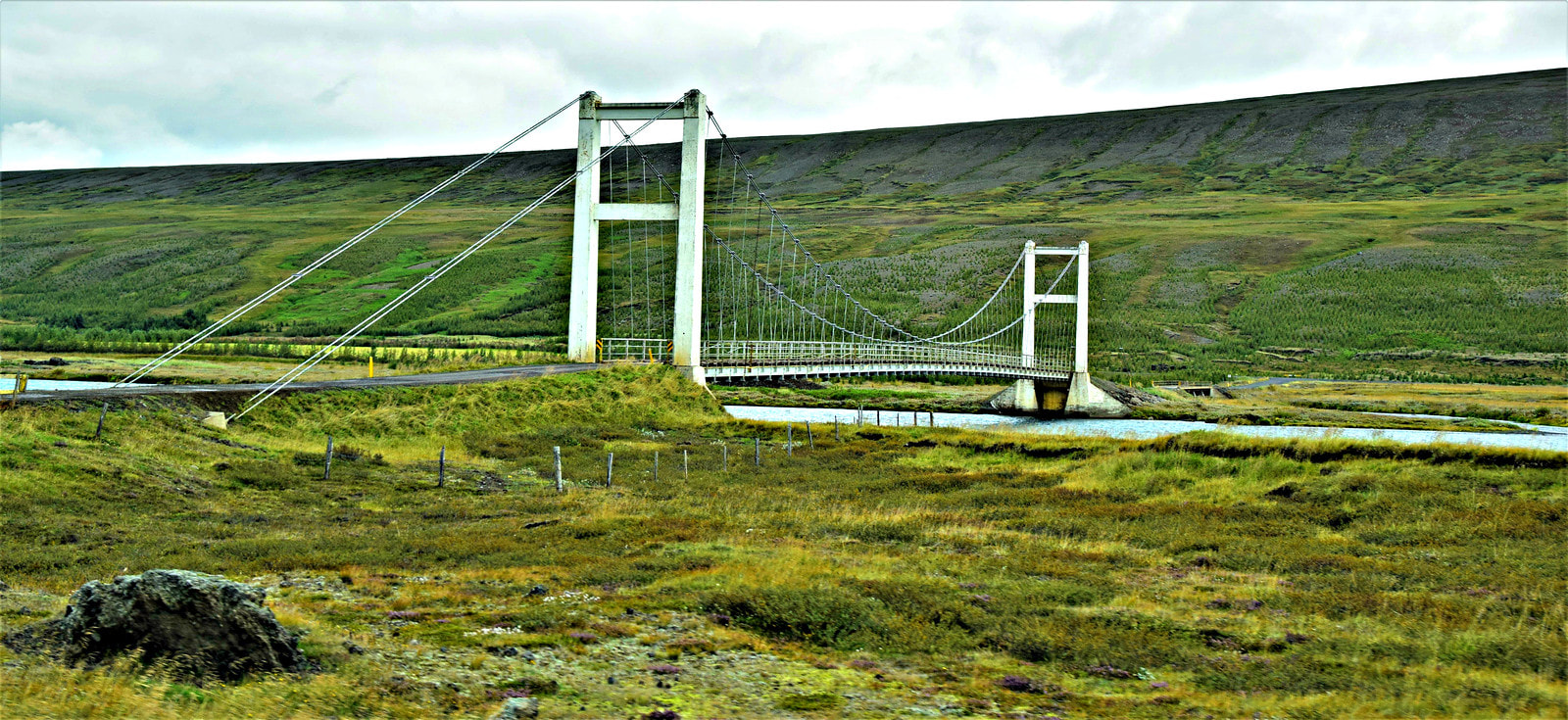 Bridge Connecting Road 844 to Road 842 - North Iceland