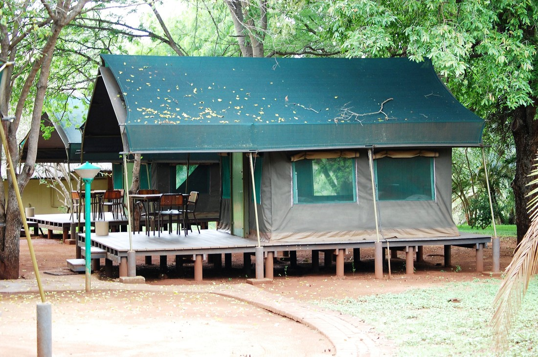 Lower Sabie Camp Safari Tent, Kruger National Park, South Africa