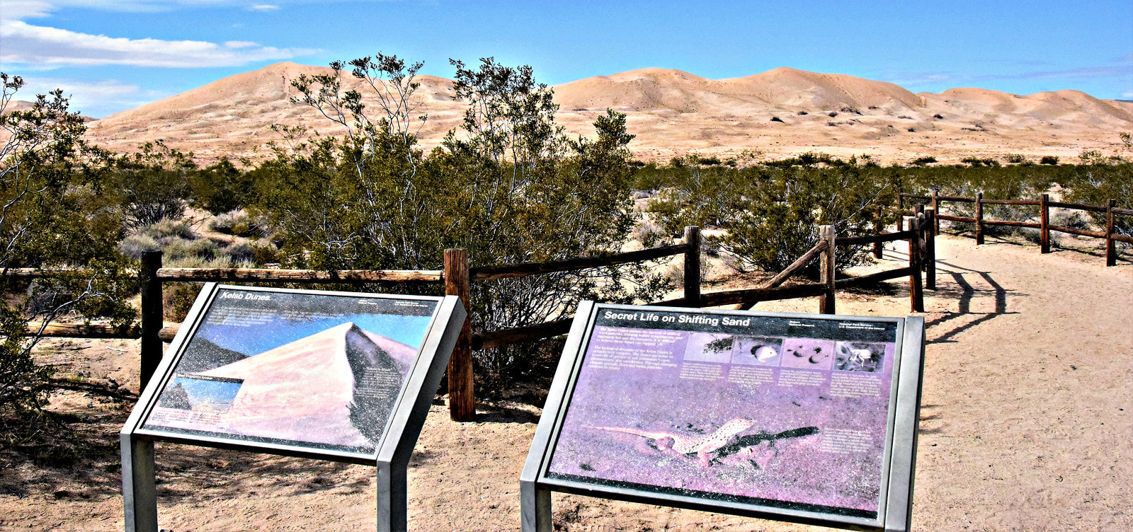 Kelso Dunes Trailhead - Mojave National Preserve