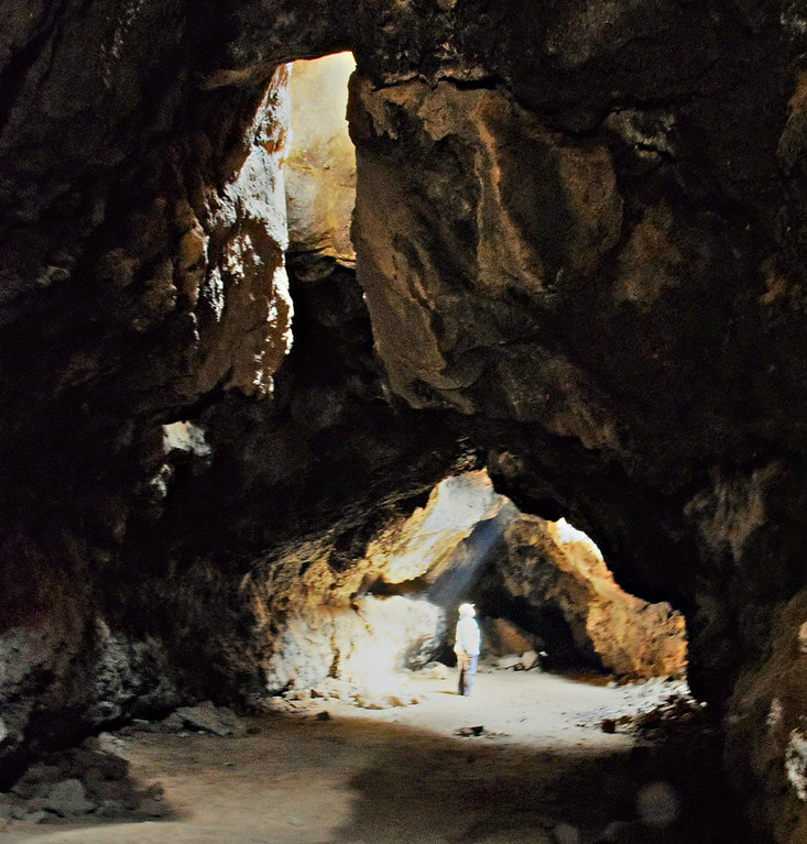 Lava Tube - Mojave National Preserve