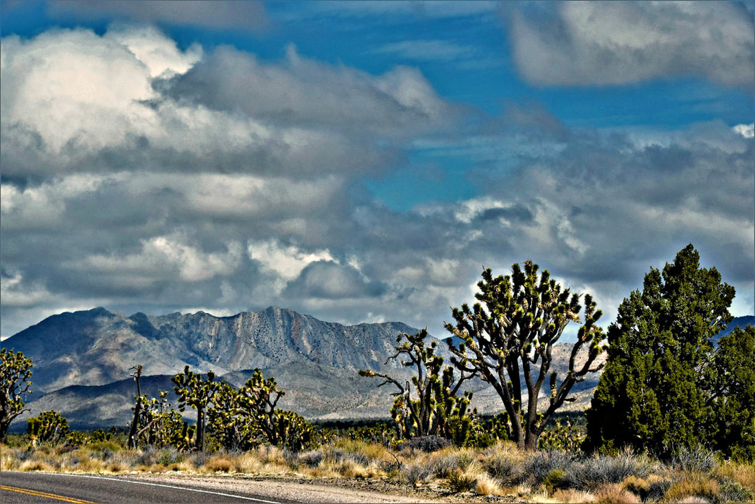 Striped Mountain - Mojave National Preserve